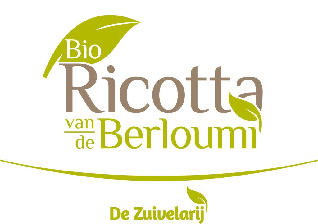 Logo Bio Ricotta Berloumi + De Zuivelarij